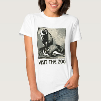 Visit the Zoo - WPA Poster - Tees