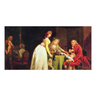 Visit To Grandfather By Boilly Louis-Léopold Best Picture Card