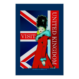 Visit UK classic poster art