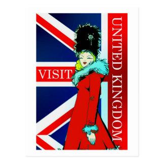 Visit United Kingdom postcard