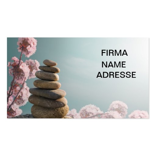 Collections of feng shui business cards feng shui consultant business card visitenkarte zensteine mit blumenhintergrund colourmoves