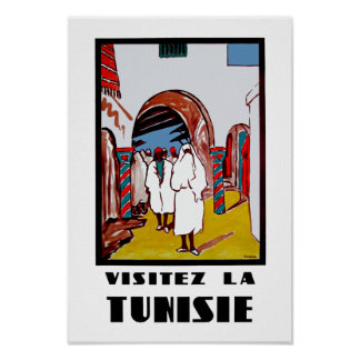 Visitez La Tunisie Poster
