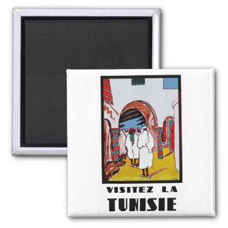 Visitez La Tunisie Square Magnet