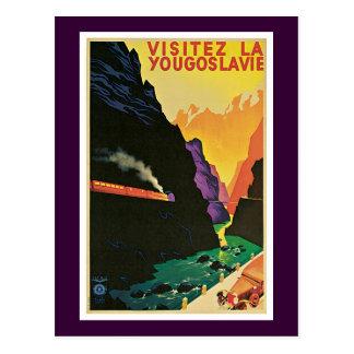 Visitez La Yougoslavie Post Card