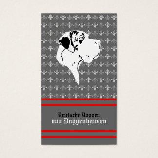 Visiting card Dogge