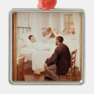 Visiting Day at the Hospital, 1889 Christmas Ornament