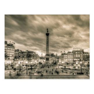 Visitors in Trafalgar Square, London Postcards