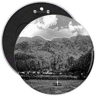 Visitors inside the Shalimar Garden in Srinagar 6 Cm Round Badge