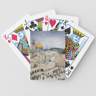 Visitors, Western Wall Plaza & Dome of the Rock Bicycle Playing Cards