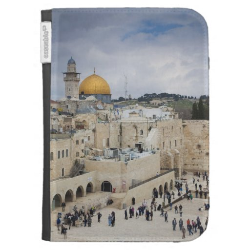 Visitors, Western Wall Plaza & Dome of the Rock Kindle Case