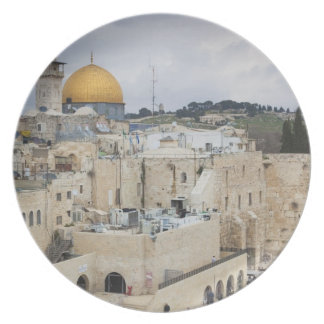 Visitors, Western Wall Plaza & Dome of the Rock Dinner Plates