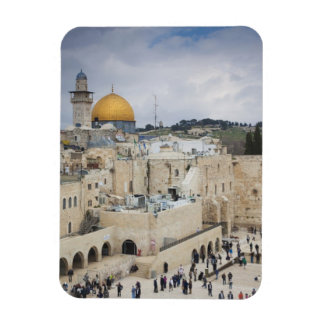 Visitors, Western Wall Plaza & Dome of the Rock Flexible Magnet