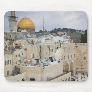 Visitors, Western Wall Plaza & Dome of the Rock Mouse Pad