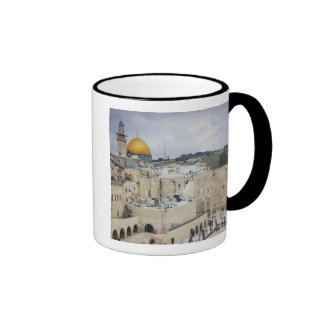 Visitors, Western Wall Plaza & Dome of the Rock Coffee Mugs
