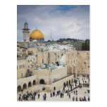 Visitors, Western Wall Plaza & Dome of the Rock Post Cards