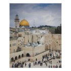 Visitors, Western Wall Plaza & Dome of the Rock Poster