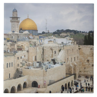 Visitors, Western Wall Plaza & Dome of the Rock Ceramic Tile