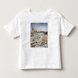 Visitors, Western Wall Plaza & Dome of the Rock Toddler T-Shirt
