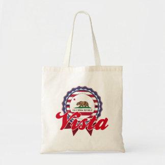Vista, CA Tote Bag