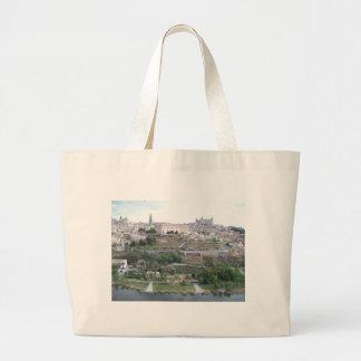 Vista de Toledo Jumbo Tote Bag