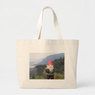 Vista Gnome Jumbo Tote Bag