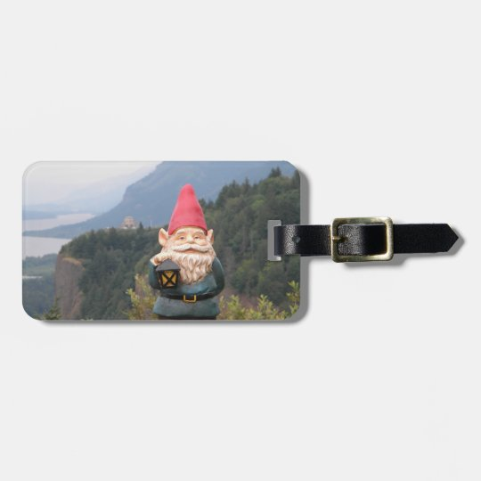 Vista Gnome Luggage Tag