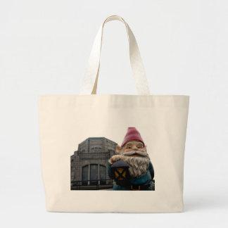 Vista House Gnome Tote Bags