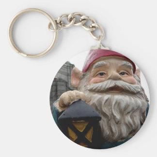 Vista House Gnome Key Ring
