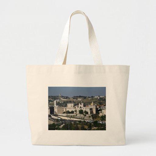 Vista para a Torre de Davi e o Domo da Rocha Bag