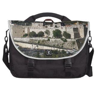 Vista para a Torre de Davi e o Domo da Rocha Laptop Bags