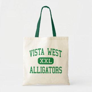 Vista West - Alligators - Bakersfield Canvas Bag