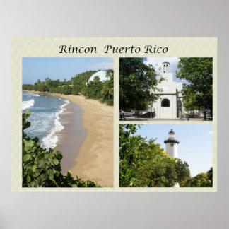Vistas de Rincon Puerto Rico Poster