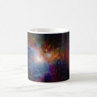 VISTA's infrared view of the Orion Nebula Basic White Mug