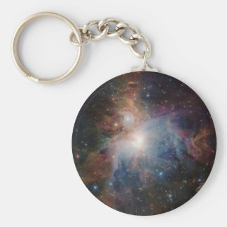 VISTA's infrared view of the Orion Nebula Basic Round Button Key Ring
