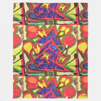 Visual Arts 860 (Tree) Fleece Blanket