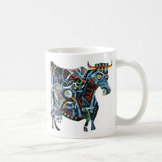 Visual Blues: Cow Mug