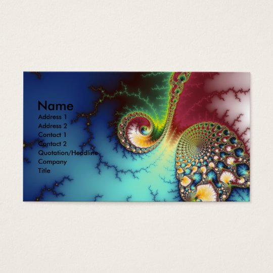 Visual Cortex Business Card