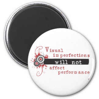 Visual Imperfections Will Not Affect Performance 6 Cm Round Magnet