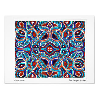 Visualization ~ Dot Designs by Gina Photographic Print