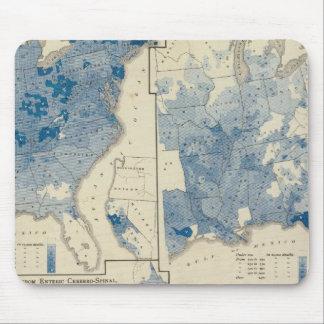 Vital statistics, United States census Mouse Pad