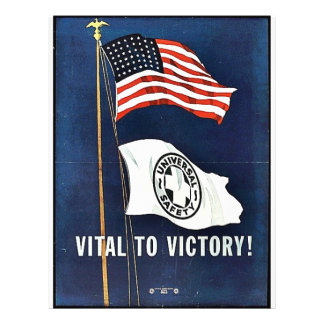 Vital To Victory! 21.5 Cm X 28 Cm Flyer