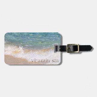 Vitamin 'Sea' Luggage Tag