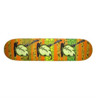 Vitamins In Fruit Skate Board Deck
