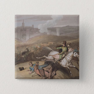 Vitoria, 21st June 1813, from 'The Victories of th 15 Cm Square Badge