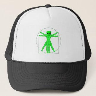 Vitruvian Alien Trucker Hat