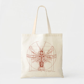 Vitruvian Crawfish Rust Color Tote Bag