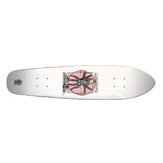 Vitruvian Cthulhu. Skateboard