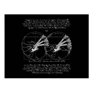 Vitruvian Guitars Postcard