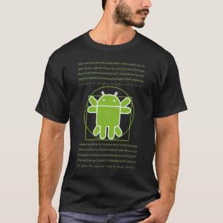 Vitruvian Man Android T-Shirt