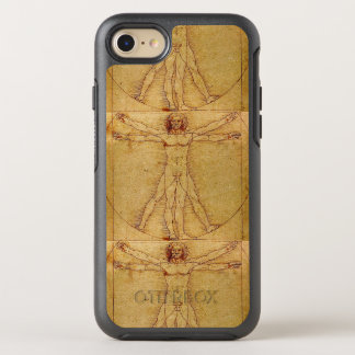 Vitruvian Man By Leonardo Da Vinci OtterBox Symmetry iPhone 8/7 Case